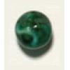 Glass Bead 10mm Nuggets Green Matrix Strung